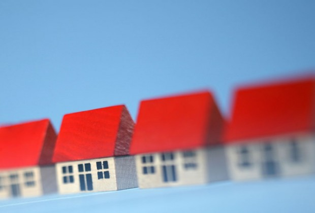 A row of houses. Image credit: Thinkstock