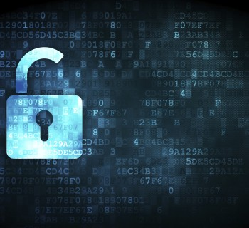 Opened Padlock on digital background. Image: Thinkstock