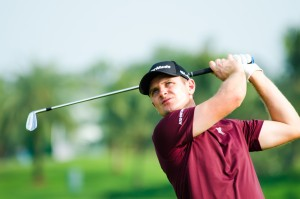 Justin Rose at Thailand Golf Championship 2013.