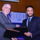 OU Vice-Chancellor Peter Horrocks at Amity University in India.