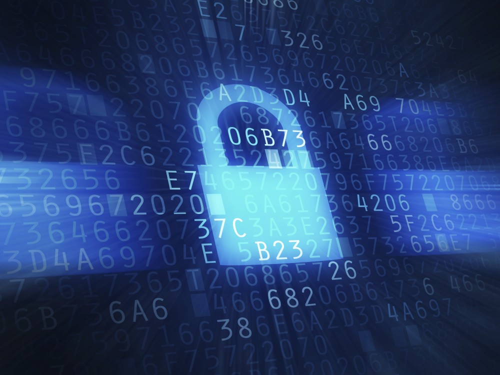 Secured data transfer. Image credit: Thinkstock