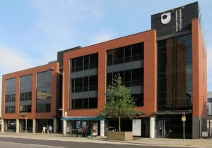 Open University in Wales office building in Cardiff