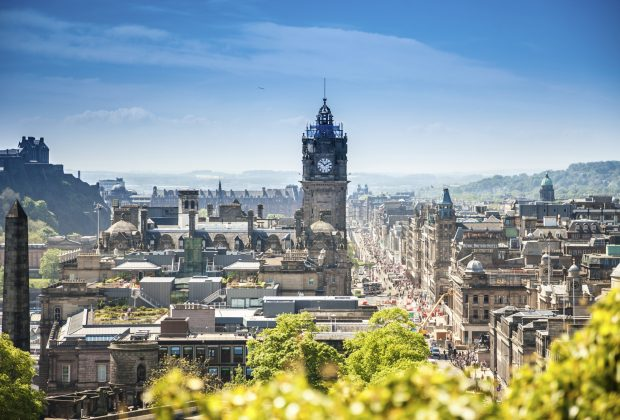 Edinburgh city, Scotland. Image credit: Thinkstock