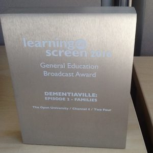 General Education Broadcast Award, Learning on Screen Awards
