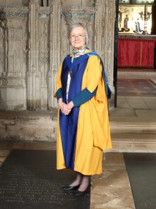 Baroness Hale at the degree ceremony