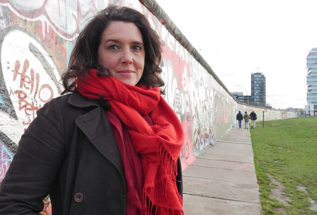 Bettany at Berlin Wall - East-side Gallery