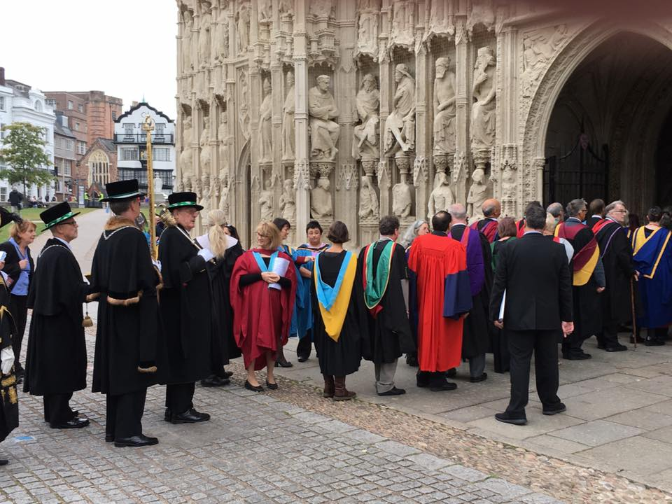 Exeter Degree Ceremony