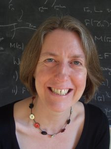 Professor of Maths, Gwyneth Stallard