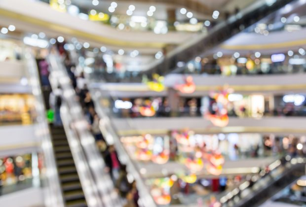 Busy shopping centre. Image credit: Thinkstock
