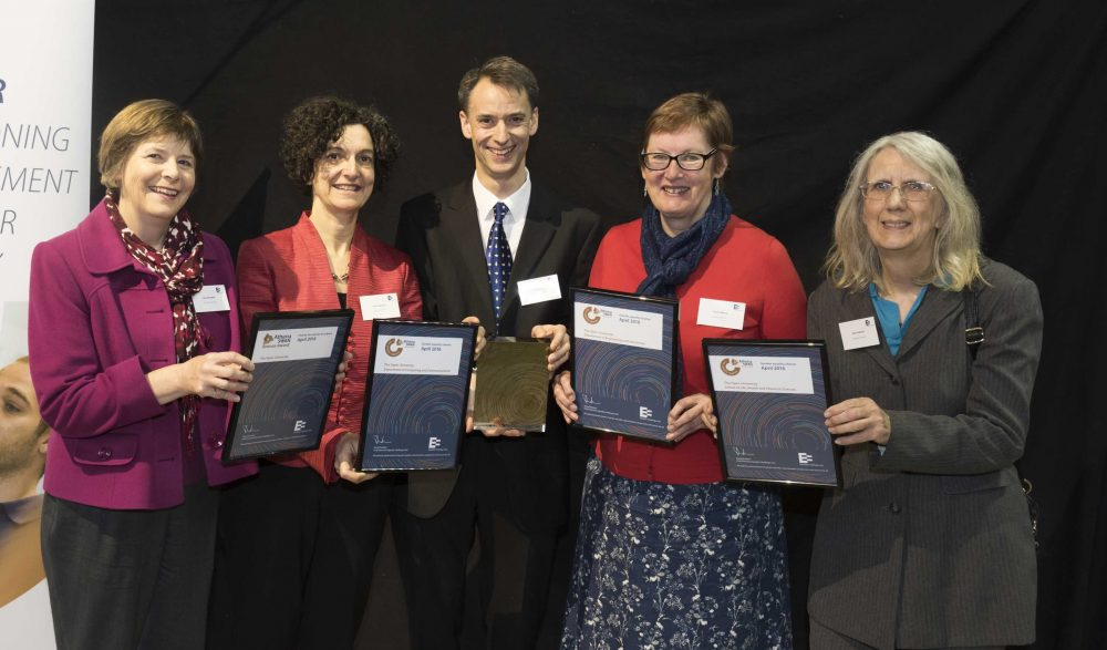 Athena Swan Awards winners from The Open University