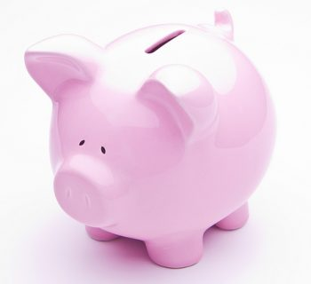 Pink Piggy Bank (www.SeniorLiving.Org)
