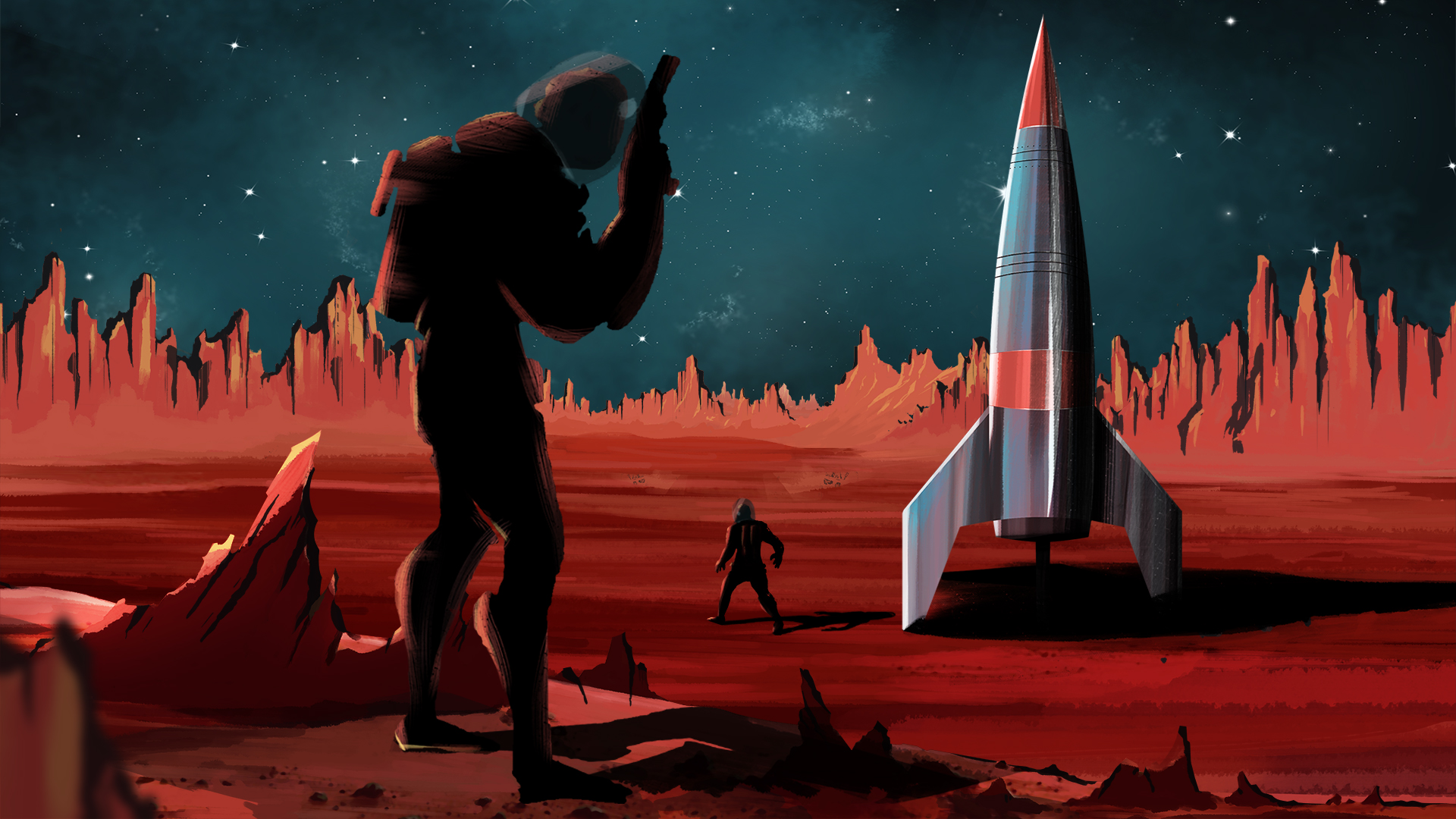 BBC iPlayer - Hunting the Martians