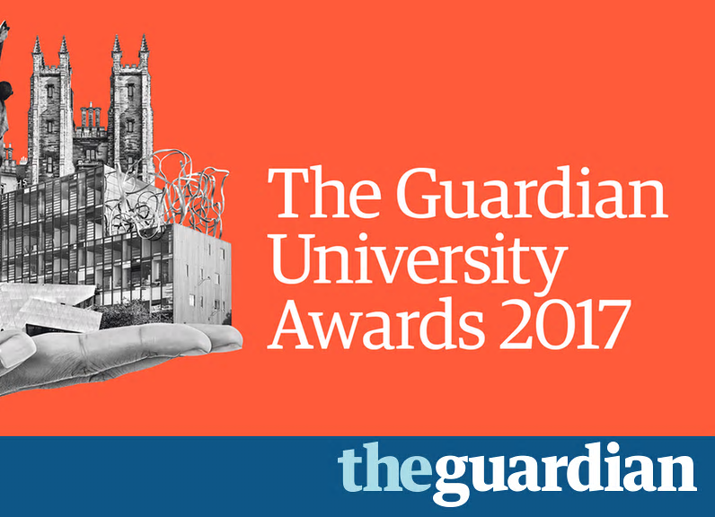 The Guardian University Awards 2017 logo