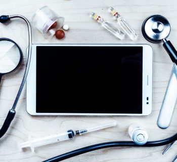 Tablet with healthcare
