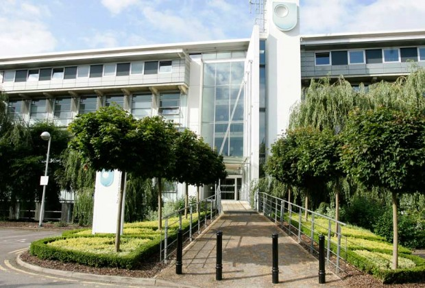 A photo of the Berrill Building at The Open University's Walton Hall campus