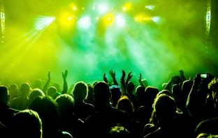 People at a music concert. Image: Thinkstock