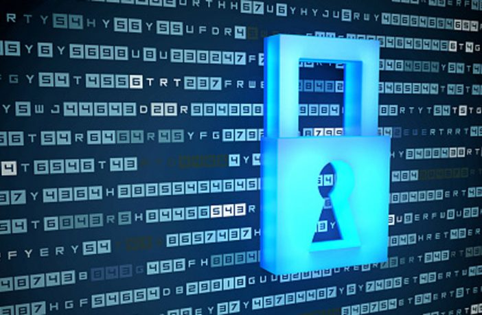 Padlock and code showing cyber security. Image: Thinkstock