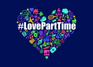 #loveparttime