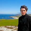 Author and presenter Simon Reeve in Ireland. Image credit: BBC TWO