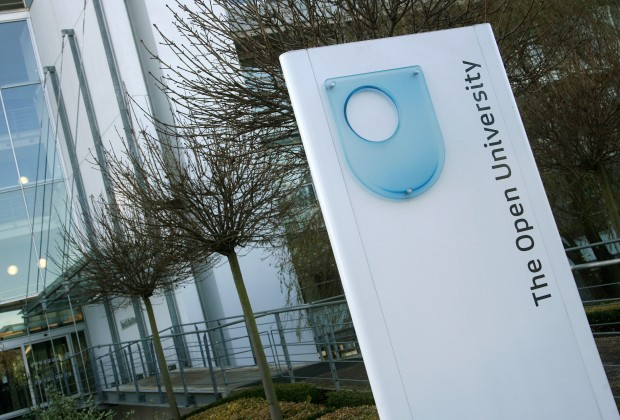 The Open University's Berrill Building in Milton Keynes