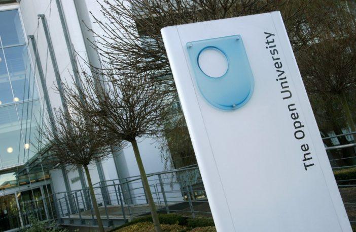 The Open University's Berrill Building in Milton Keynes