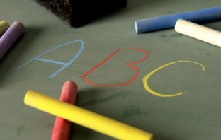 Chalkboard and ABC letters. Image credit: Thinkstock