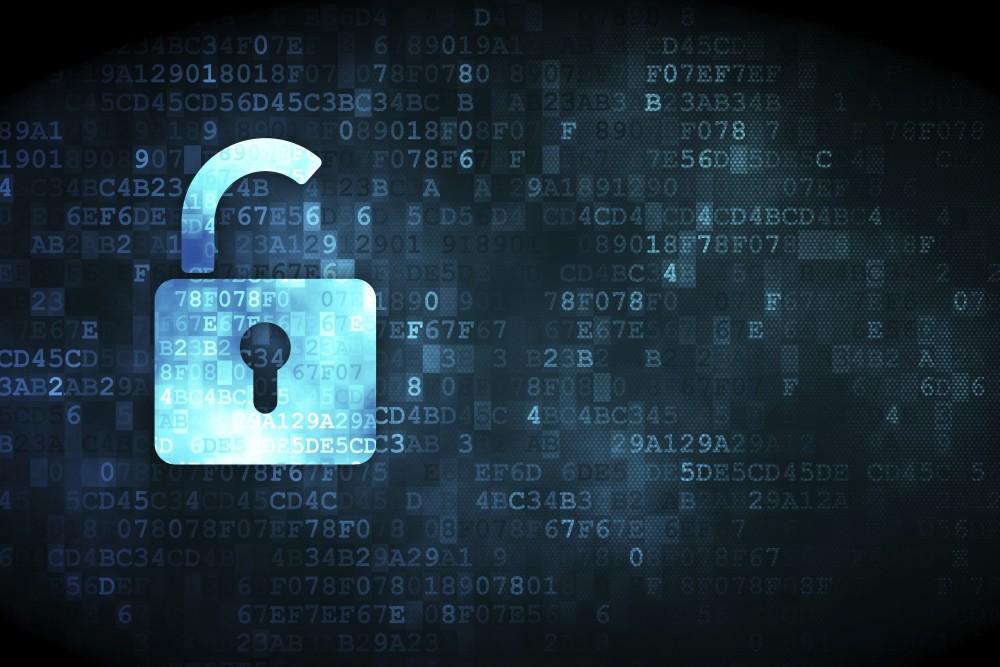 Opened Padlock on digital background. Image: Thinkstock