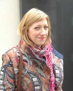 Social work student Laura Mynett