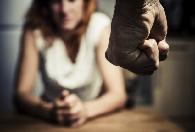 Woman in fear of domestic abuse. Image credit: Thinkstock