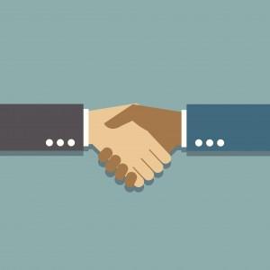 A handshake. Image credit: Thinkstock