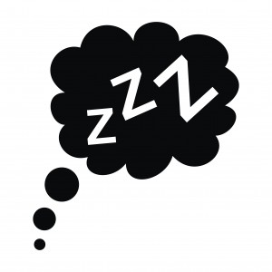 Sleeping zzzz icon. Image credit: Thinkstock