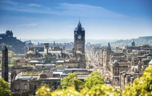 Edinburgh city, Scotland. Image credit: Thinkstock