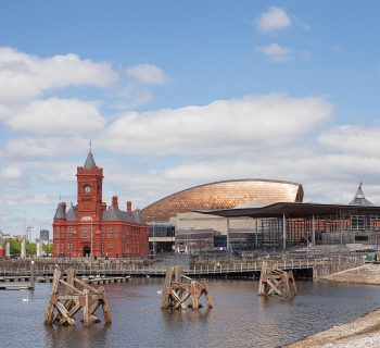 Cardiff Bay in Wales. Image credit: Thinstock