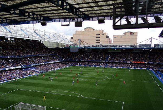 Leicester City football ground.