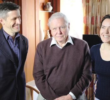 Joe Smith, David Attenborough and Kim Hammond
