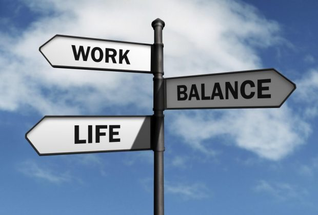 Work life balance signpost. Image credit: Thinkstock