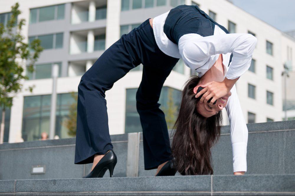 Flexible business communication - woman calling phone. Image credit: Thinkstock