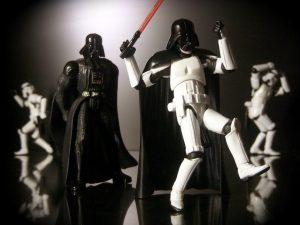 Dancing Star Wars stormtrooper