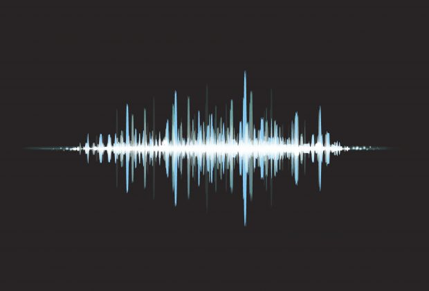 Graphic of a soundwave