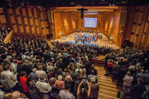 Barbican degree ceremony