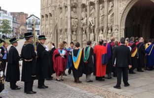 Exeter Degree Ceremony