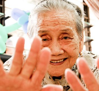 Asian elderly female