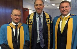 Mike Tomlinson, Richard Gillingwater and Sir Gary Verity