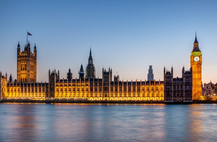 Photograph of the houses of parliament