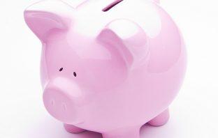 Pink Piggy Bank (www.SeniorLiving.Org)