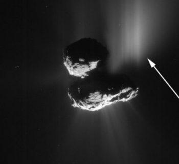 Photo by ESA/Rosetta