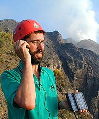 Dave Rothery volcano expert