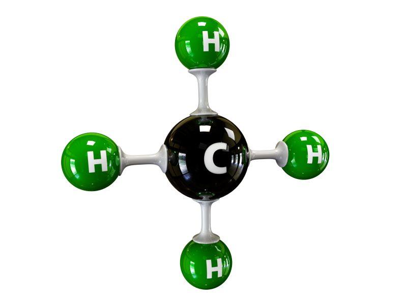 Methane molecule [CH4]