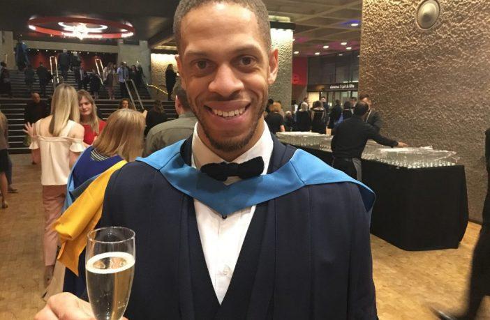 Computing graduate, Nathanial Lawrence