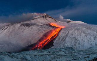 Mount Etna is 'sliding towards the sea'